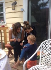 Julia, Hannah and Noah